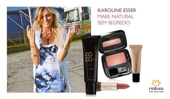 A blogueira @karolineesser contou suas apostas de make para manter o estilo pé na areia.Acesse http://bit.ly/1LF6Fpr