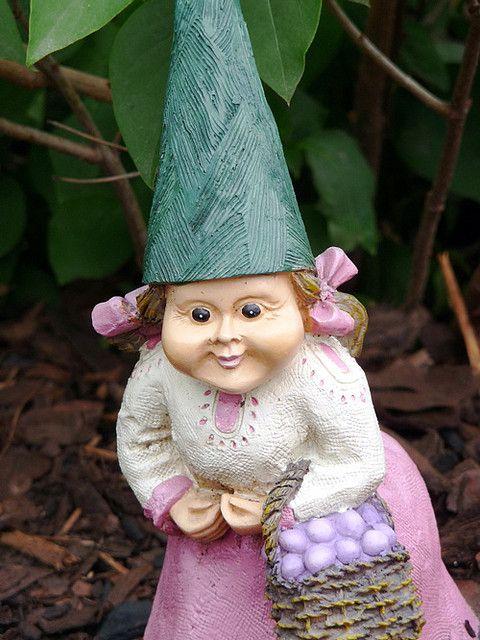 Female Garden Gnomes: Gnomes, Garden Gnomes And Gnome Garden On Pinterest