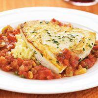 Pan-Seared Swordfish with agrodolce sauce. LOVE this recipe. soooooo ...