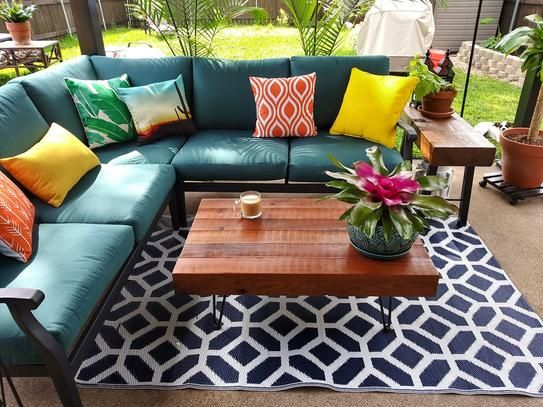 outdoor furniture patio sectional