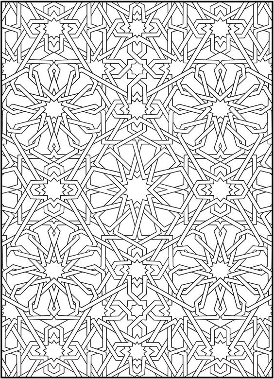 mosaic masterpiece coloring pages - photo#17