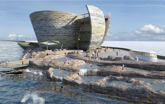 A Grã-Bretanha planeia gerar eletricidade a partir de lagoas artificiais que captam a força das marés - o primeiro projecto deste tipo no mundo.