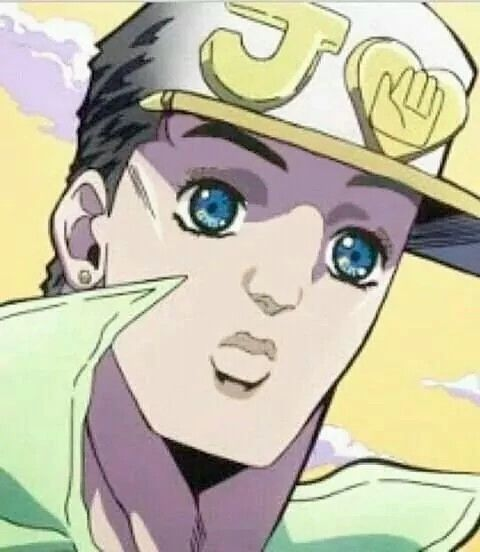 Koichi S Face On Jotaro D Jojo S Bizarre Adventure Jojo Bizarre Jojo Bizzare Adventure