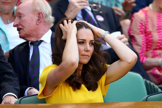 Kate Middleton Photos - Catherine, Duchess of Cambridge attend the Men's Singles final on day thirteen of the Wimbledon Lawn Tennis Championships at All England Lawn Tennis and Croquet Club on July 15, 2018 in London, England. - Day Thirteen: The Championships - Wimbledon 2018