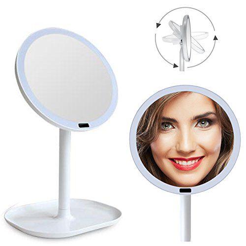 Carejoy Lighted Makeup Mirror 5x Magnifying Motion Sensor Mirror