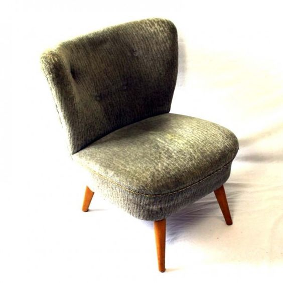 Located using retrostart.com > Cocktail Lounge Chair by Unknown Designer for Unknown Manufacturer