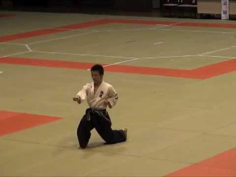 2009 中野哲爾 高校生大会模範演武 転体の法形 Youtube 体 大会 運動