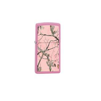 Zippo Outdoors Windproof Lighter, Realtree AP Pink Matte