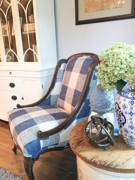 My $10 Craigslist Chair
