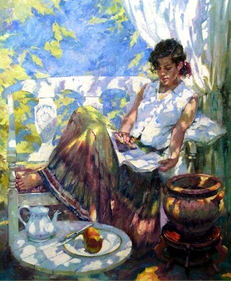 pintura de John Michael Carter