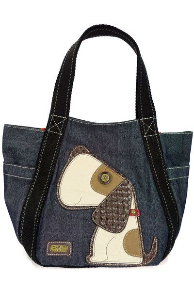 Toffy Dog Carry All Tote in Denim: