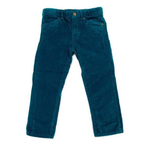 Lily Balou Trousers Ethan Corduroy Petrol