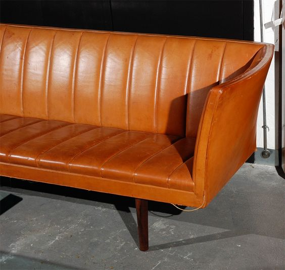 Helge Vestergaard Jensen Sofa | From a unique collection of antique and modern sofas at https://www.1stdibs.com/furniture/seating/sofas/