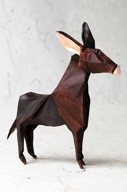 origami donkey: