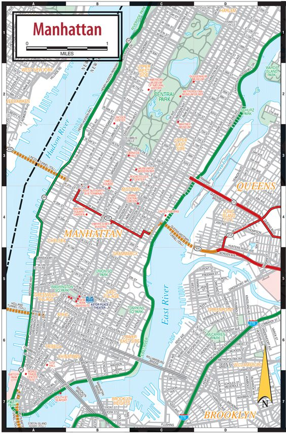 Printable New York City Map Add this Map to Your Site – New York City Tourist Map PDF