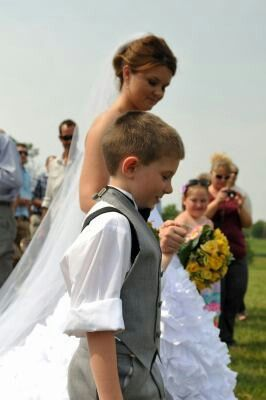 Image result for son walking his mom down the aisle
