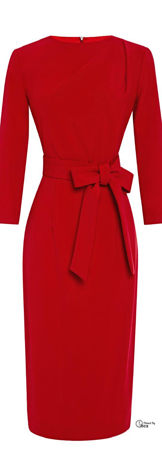 Lady in red - ein rotes Kleid gehört in jeden Kleiderschrank jeder Lady 40 und 50plus - www.image50plus.de