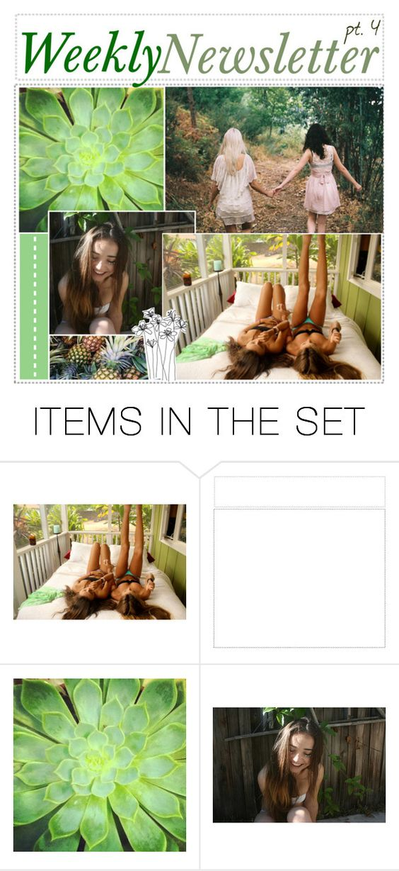 """""""Weekly Newsletter // Natalia"""" by teenage-iconer ❤ liked on Polyvore featuring art and tipbynat"""