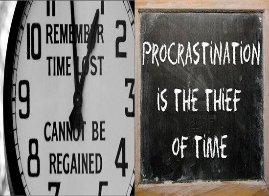 procrastination is the thief of time 'procrastination is the thief of time,' runs the most famous line from edward young's night-thoughts ('collar him' added mr micawber) edward young is today now.