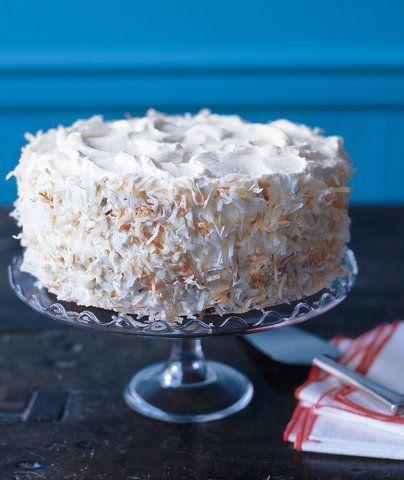 Apricot-Coconut Cake   RealSimple.com