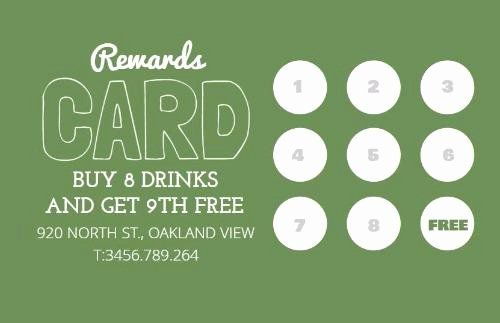 Punch Card Template Word Lovely Loyalty Cards And Loyalty Card Program Design By Card Templates Free Free Business Card Templates Free Printable Card Templates
