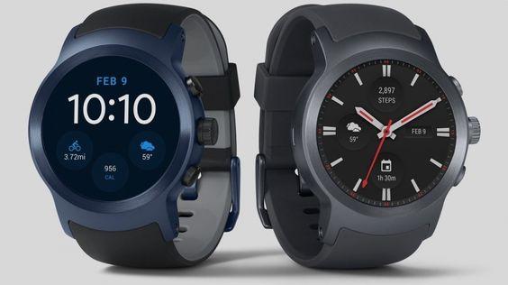LG Watch Style & Watch Sport Akıllı Saat