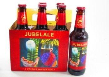 Cerveja Deschutes Jubelale, estilo Specialty Beer, produzida por Deschutes Brewery, Estados Unidos. 6.7% ABV de álcool.