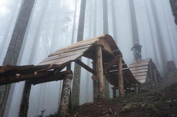 More wooden boards.  // mountain biking // mtn bike //