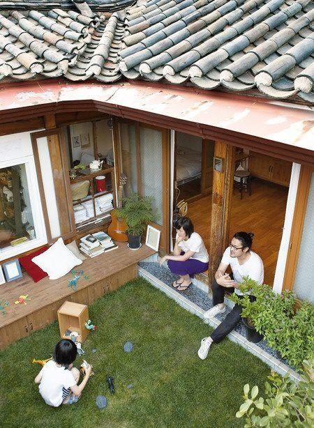 korean exterior house design - house design