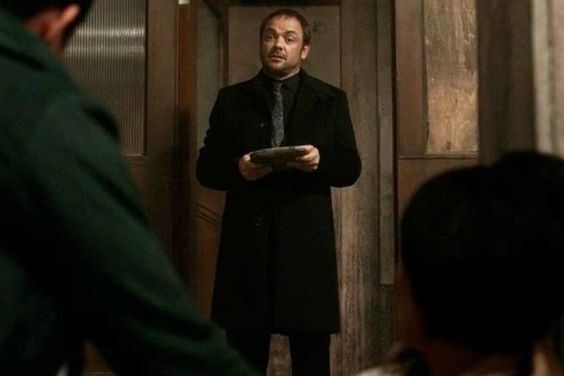 """""""I know we're not mates, Kevin, but one word of advice: Run. Run far and run fast. Cuz the Winchesters, well, they have a habit of using people up and watching them die bloody.""""  -Crowley to Kevin"""