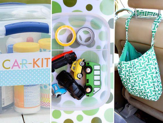 15 astuces de parents pour les longs trajets en voiture avec les enfants
