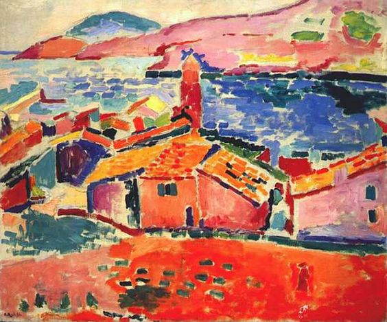 HENRI MATISSE (1869-1954) 'The Roofs of Collioure', 1905 (oil on canvas)