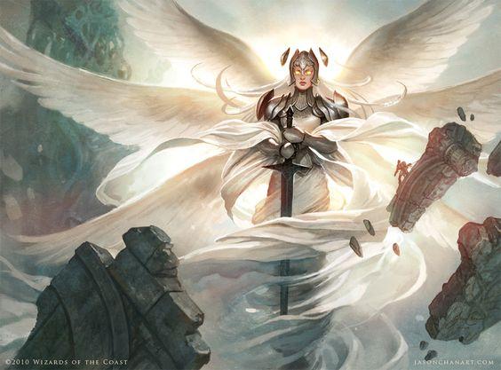 "Jason Chan - ""Iona, Shield Of Emeria"" TCG Magic card for Wizards of the Coast"