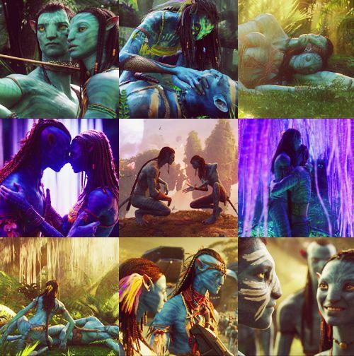 Avatar 2009 Film: Avatar Collage Jake And Neytiri