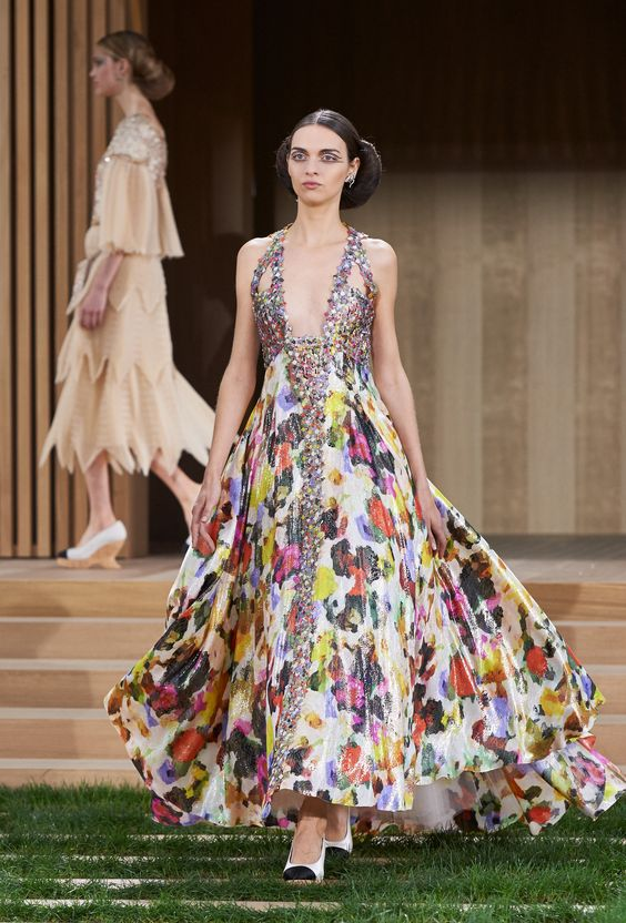 Défilé Chanel Haute Couture printemps-été 2016 COUTURE