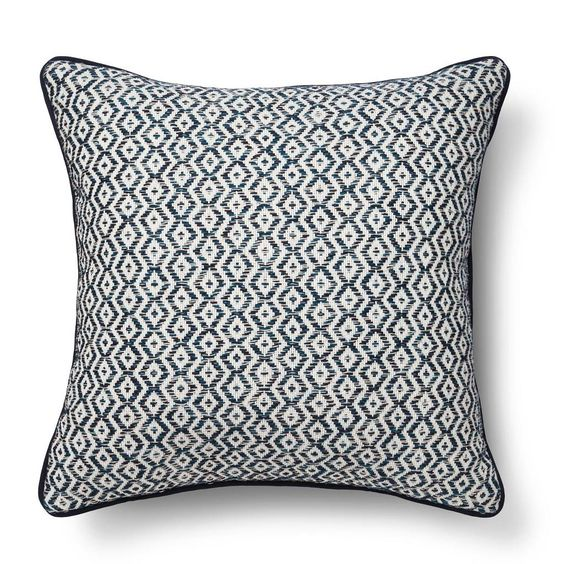 Cool Diamond Stripe Throw Pillow – Threshold™. Image 1 of 1.