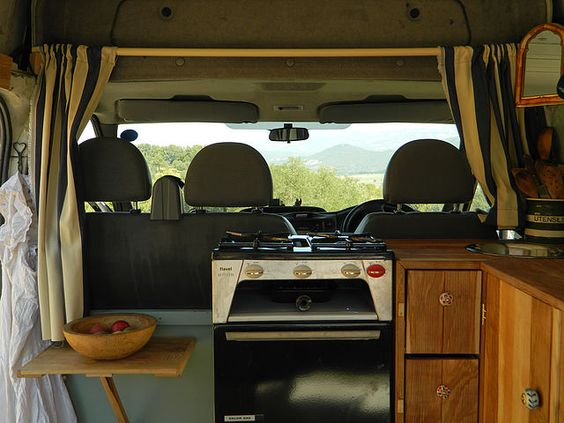 Rustic Campers Bespoke Hardwood Interior Campervan Conversion Specialists