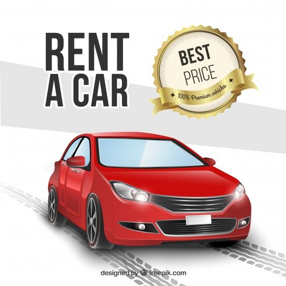 Rent A Car Free Vector Freepik Freevector Background Car Design Template In 2020 Rent A Car Car Rental Car