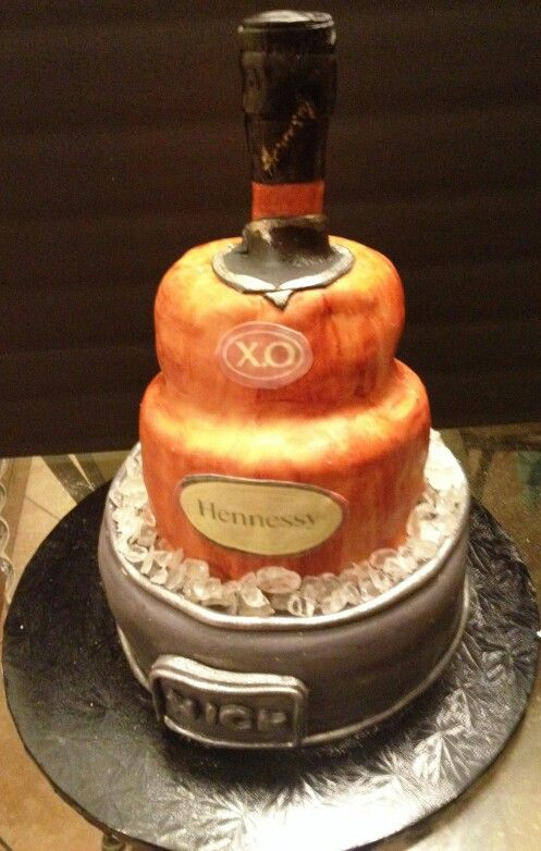 hennessy birthday cake hennessy xo cake 4 layer bottle cake 2 layer 4786