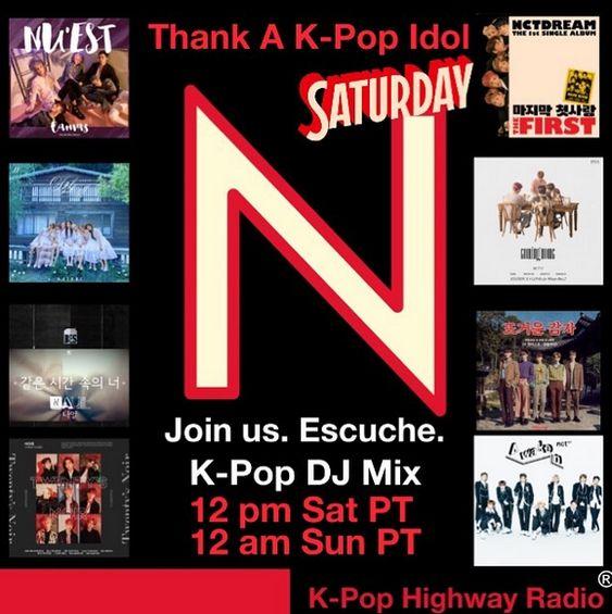 Join Us Thank A K Pop Idol Kpop Radio K Pop Star