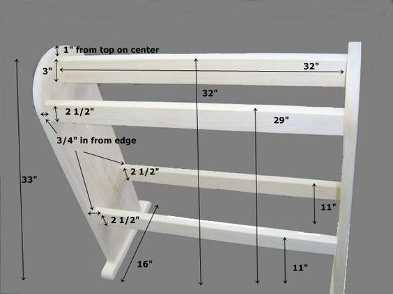 Free quilt stand plans how to build a wooden quilt stand for Free ladder stand plans