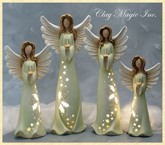 clay angels - Google Search