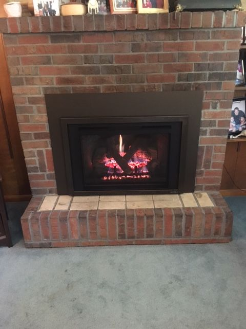 Newly Installed Heat N Glo Escape I30 Gas Fireplace Insert