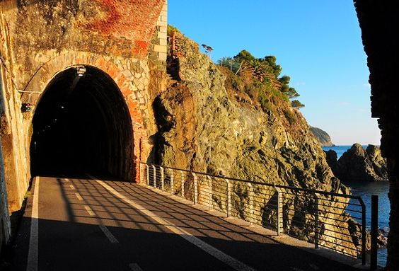 Bonassola Cycle Track - an incredible way to see the coast near the Cinque Terre.