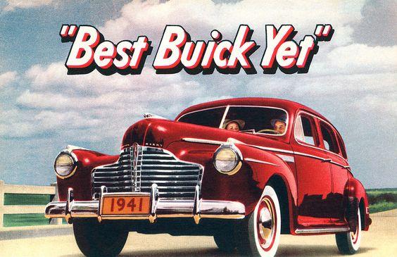 1941 Buick postcard | Flickr - Photo Sharing!