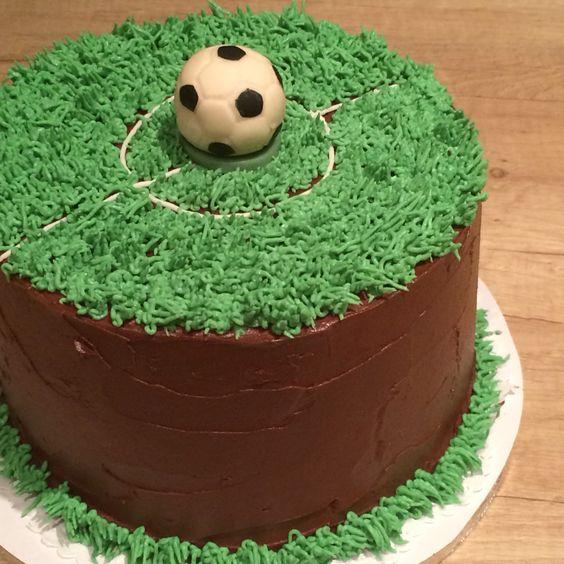 Fociörület - football cake