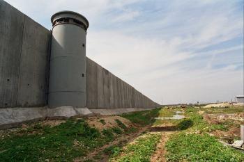 il muro dell'apartheid nella palestina occupataجدار الفصل العنصري في فلسطين المحتلة: