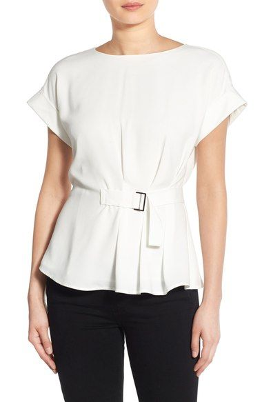 Trouvé Belted Top available at #Nordstrom