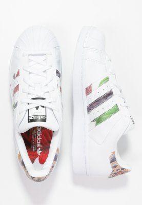 adidas original superstar 2 white and black