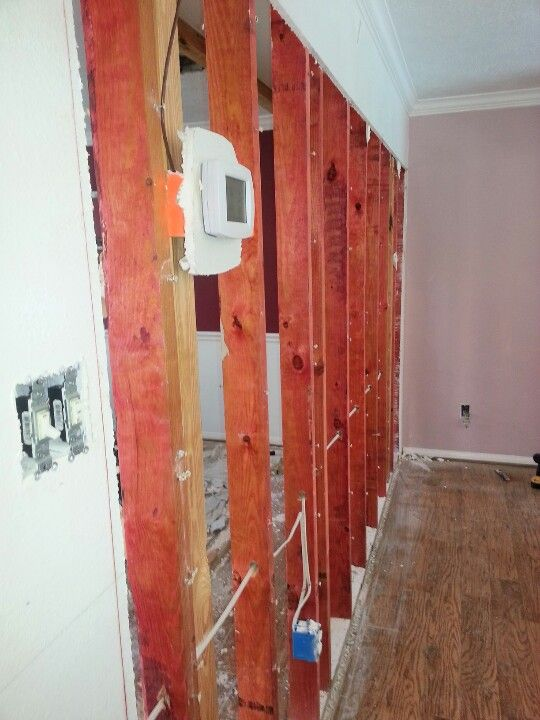 DEMOLITION  DRYWALL AND FRAME